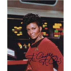 Nichelle Nichols Signed Photo as Uhura from Star Trek