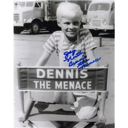 Jay North Signed Photo as Dennis the Menace