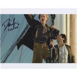 Danny Nucci Signed Photo with Leonardo DiCaprio from Titanic