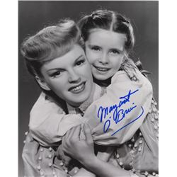 Margaret O'Brien Signed Photo with Judy Garland from Meet Me in St. Louis
