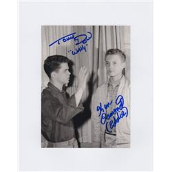 Ken Osmond & Tony Dow Signed Photo from Leave It to Beaver