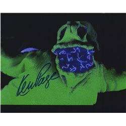 Ken Page Signed Oogie Boogie Photo from Tim Burton's The Nightmare Before Christmas