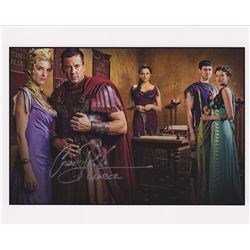 Craig Parker Signed Photo Print as Claudius Glaber from Spartacus: War of the Damned