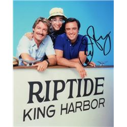 Joe Penny Signed Photo as Nick Ryder from Riptide