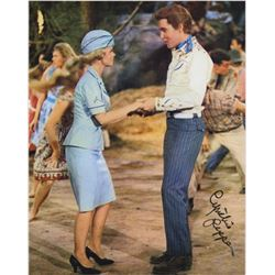 Cynthia Pepper Signed Photo with Elvis Presley from Kissin' Cousins