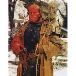 """Ron Perlman 11"""" x 14"""" Signed Photo as Hellboy"""