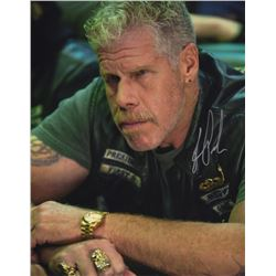 """Ron Perlman 11"""" x 14"""" Signed Photo as Clay Morrow from Sons of Anarchy"""