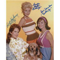 Petticoat Junction Photo Signed by Linda Henning, Gunilla Hutton & Lori Saunders