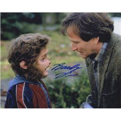 Bradley Pierce Signed Photo as Peter Shepherd with Robin Williams from Jumanji