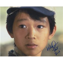 Jonathan Ke Quan Signed Photo as Short Round from Indiana Jones and the Temple of Doom