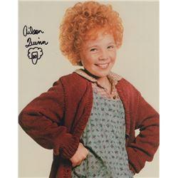 Aileen Quinn Signed Photo as Annie