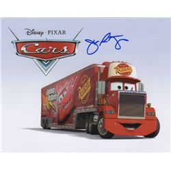 John Ratzenberger Signed Photo as Voice of Mack from Cars