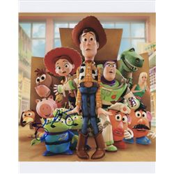 John Ratzenberger Signed Photo as Voice of Hamm from Toy Story