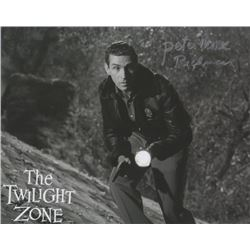 """Peter Mark Richman Signed Photo from The Twilight Zone Episode """"The Fear"""""""