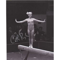 Gymnast and Peter Pan Star Cathy Rigby Signed Photo