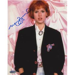 Molly Ringwald Signed Photo as Andie Walsh from Pretty in Pink