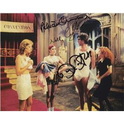 Barry Bostwick, Patricia Quinn & Nell Campbell Signed Photo from The Rocky Horror Picture Show