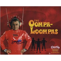 Deep Roy Signed Photo as the Oompa Loompa from Charlie and the Chocolate Factory