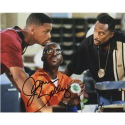 John Salley Signed Photo Still with Will Smith & Martin Lawrence from Bad Boys II