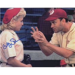 Bitty Schram Signed Photo Still with Tom Hanks from A League of Their Own