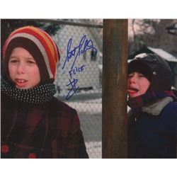 Scott Schwartz Signed Photo Print as Flick from A Christmas Story
