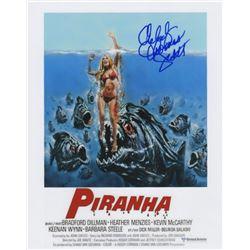 Melody Thomas Scott Signed Photo from Piranha
