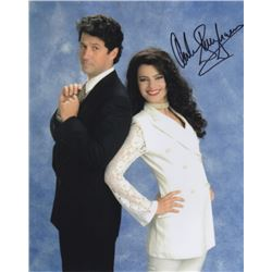 Charles Shaughnessy Signed Photo from Fran Drescher from The Nanny