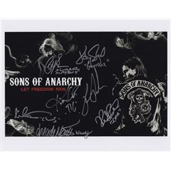 "Sons of Anarchy 11"" x 14"" Photo Signed by 7 Cast Members"