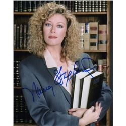Nancy Stafford Signed Photo as Michelle Thomas from Matlock