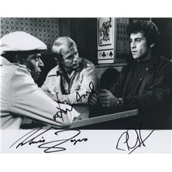 Starsky and Hutch Photo Still Signed by David Soul, Paul Michael Glaser & Antonio Fargas