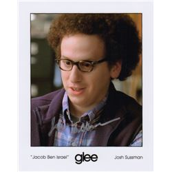 Josh Sussman Signed Photo as Joacob Ben Israel from Glee
