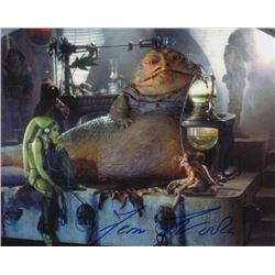 Femi Taylor Signed Photo Still as Oola from Star Wars: Episode VI - Return of the Jedi
