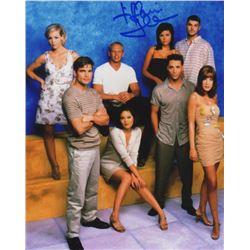 Tiffani Thiessen Signed Season 9 Cast Photo from Beverly Hills, 90210