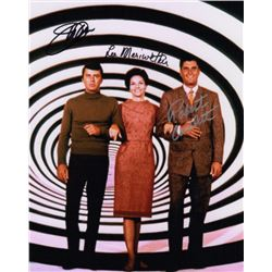 The Time Tunnel Cast Photo Signed by Lee Merriweather, James Darren & Robert Colbert