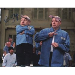 Verne Troyer Signed Photo as Mini Me with Mike Myers from Austin Powers in Goldmember