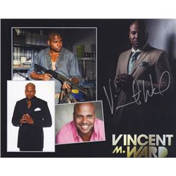 Vincent M. Ward Signed Photo Print as Oscar from The Walking Dead