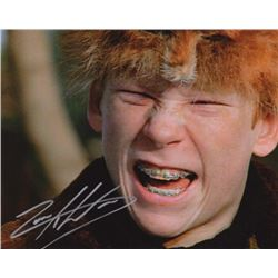 Zach Ward Signed Photo as Scut Farkus from A Christmas Story