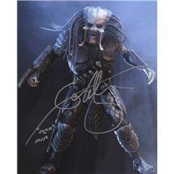 Ian Whyte Signed Photo as Scar from AVP: Alien vs. Predator