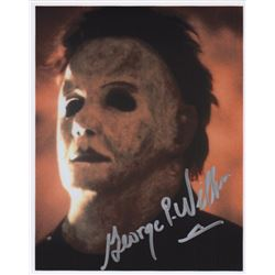 George P. Wilbur Signed Photo of Michael Myers from Halloween