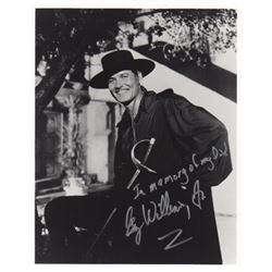 Guy Williams Jr. Signed Photo from Zorro