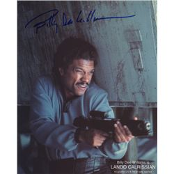 Billy Dee Williams Signed Print as Lando Calrissian from Star Wars: The Empire Strikes Back
