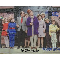Willy Wonka & the Chocolate Factory Cast Signed Photo