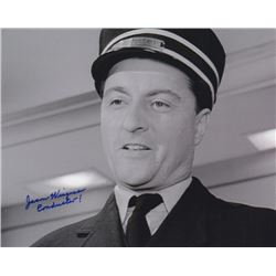 "Jason Wingreen Signed Photo as The Conductor from the Twilight Zone Episode ""A Stop at Willoughby"""