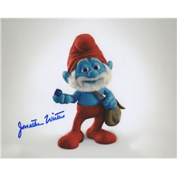 Jonathan Winters Signed Photo as Papa Smurf from The Smurfs