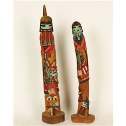 Lot of 2 High Quality Kachina Dolls