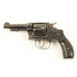 S&W 32 Hand Ejector Cal: .32 Long SN: 268801