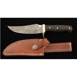 Damascus Steel Skinner Knife