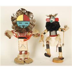 Lot of 2 Kachina Dolls