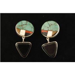 Pair of Artistry Navajo Dangle Earrings