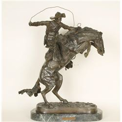 Fine Art Bronze by Frederic Remington #1 of 100